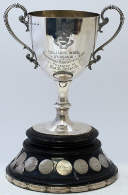 Trophy #078  Shooting Champions Cup  Donated in 1902 by G B Bullock; 2017.083