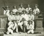 1884 WCS 1st XI Cricket team; Tesla Studios; 1884