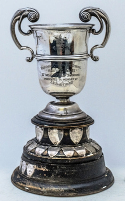 Trophy #076  The Barthorp Cup - Hadfiled House 50 yds swimming  Donated by Mr and Mrs J G Barthorp in memory of their son L V Barthorp  (Hadfiled House 1914-15) who die soon after leaving school ; 2017.070