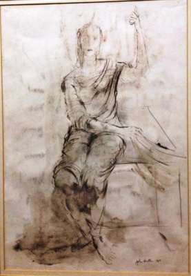 Artwork 'Angel at the Front' by John Hutton