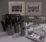 Collection of J L M Horrocks WCS 1925-28 Sports trophies, photographs and Album; 1928