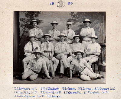 1890 WCS 1st XI Cricket Team