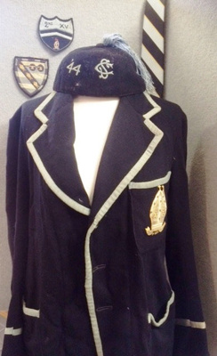 WCS Blazer and team badges from W J Treadwell (WCS 1942-45)
