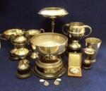 International Tennis Trophies won by A C Stedman (WCS 1921-25)
