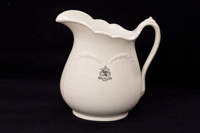 Vitrified China water jug. Featuring the WCS Coat ...