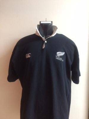 Rugby Jerseys of John Daniell (WCS 1985-89) NZ Und...