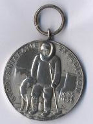 1934 Antarctic Expedition medal Presented to Dr L ...