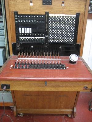Manual phone exchange, 1940's, 2008-17