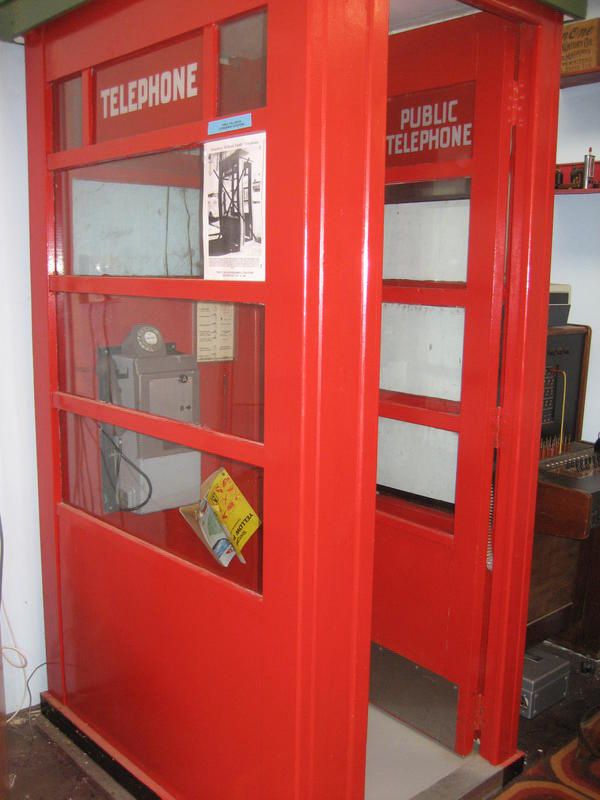 Telephone Box, Ministry Of Works For NZ Post Office Wellington New Zealand,  1950u0027s,