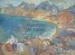 Tarakohe Bay from Mapua, Nelson; Toss Woollaston (1910-98); c. 1960; 1967.016