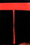 Red and Black, Colin McCahon (1919-87), NZ, 1976, 2002.002