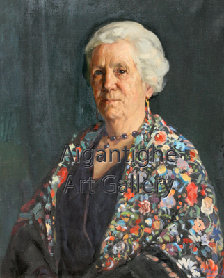 Helen Grant; Archibald Nicoll (1886-1952),  English/NZ; 1998.034