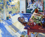 The Untidy Verandah; Olivia Spencer-Bower (1905-82), NZ; 1982.011