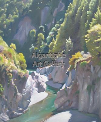Orari Gorge; Austen Deans, NZ; 1956; 1960.002