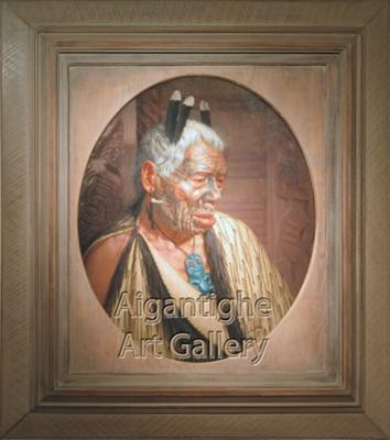 Tumai Tawhiti; C.F. Goldie (1870-1947), NZ; 1913; 1956.018