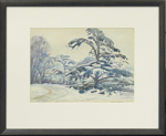 Winter scene; Harry Linley Richardson; VUW.1961.15