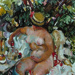 Nude in the garden; Evelyn Page; 1971; VUW.1971.9
