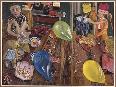The birthday party; Jacqueline Fahey; 1974; VUW.1986.2