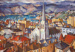 Wellington Harbour and St Peter's; Evelyn Page; 1958; VUW.1961.3