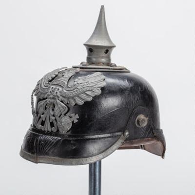 Helmet, Pickelhaube ; Unknown maker; 1915; WW.2018.3675