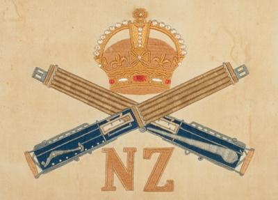 Embroidery, World War One; Campbell, Herbert; 1917-1918; WW.1979.555