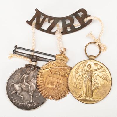 Medals, Albert Neill, W.W.I; Unknown maker; MacMillian, William; 1915-1918; WW.2018.3681