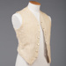 Waistcoat; Dunlop, William; Wybrow, Catherine, nee Gutsell; 1912; WW.1975.308