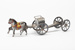 Toy, Gun Carriage; Unknown maker; 1900-1915; WW.1981.626