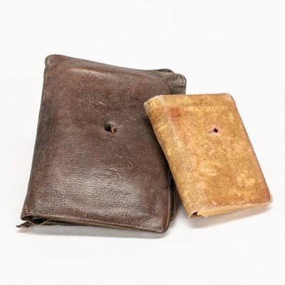Bible and Wallet, Rifleman John Shankland; Testament League; Oxford University Press; 1905-1915; WW.2002.2176