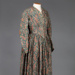 Dress, Paisley Patterned; Unknown maker; 1881?; WW.1993.786