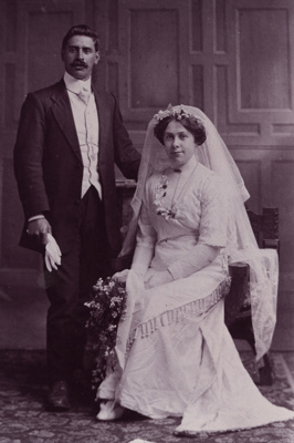 Photograph, Wedding of Wybrow and Gutsell; Unknown Photographer; 1912; WW.1998.1256