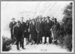 Group at the thermal pools, Rotorua, June 2nd  1929; 001