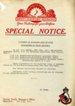 Railway Notice; 015