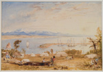 View of Nelson Haven, Tasman's Gulf, New Zealand, 1841, 1841, AC 1025