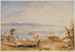 View of Nelson Haven, Tasman's Gulf, New Zealand, 1841, 1841, AC 1025