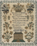 The Norley Sampler, 1836, A776