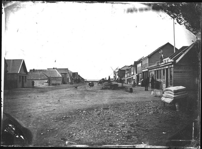Trafalgar Street, circa 1860, L S 9-3-7