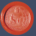 Nelson Provincial Government wax seal, date unknown, A4174