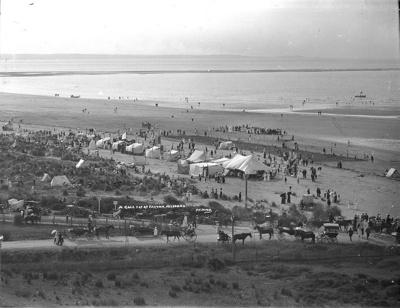 A Gala Day at Tahuna. Nelson. NZ., circa 1918, FNJ 6 x 8 14