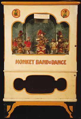 FN Jones Monkey Dance Band Machine, circa 1950, A2829