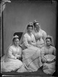 Broad, bridesmaids, circa 1877, I & C 8252/22