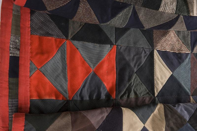 Patchwork quilt, date unknown, COS.345.78
