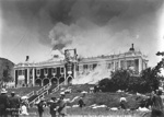 Burning of Boys College Nelson, 1/12/1904, FNJ half 115