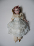Wax Faced Doll; c1860; 2012.400.082