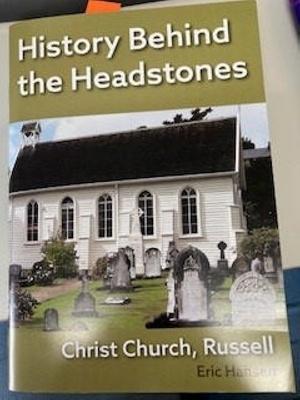 Book: History Behind the Headstones; Author Eric Hansen; RLnonumber4