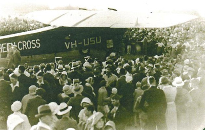 Southern Cross aeroplane, Hawera; PH2012.0092
