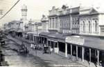 Photograph of High St Hawera,; H.J.Finlay.; 2013.0055.