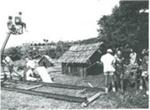 Filming of 'The killing of Kane' near Hawera, 1971; PH2012.0005