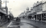 Sepia photograph of High St Hawera.; 2013.066