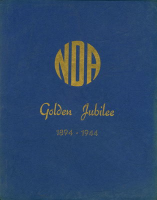National Dairy Association Golden Jubilee 1894 - 1944 ; C. W. Burnard; 1944/45; AR2012.0004